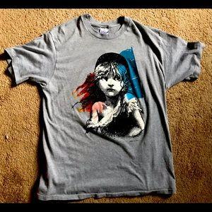 Vintage 1986 Les Miserables T Shirt - Size XL